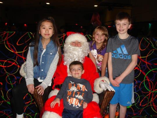 The Sunrise Optimist Club recently held Santa Skate