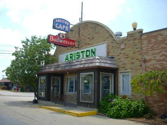 The Ariston Cafe may be the oldest restaurant on Route