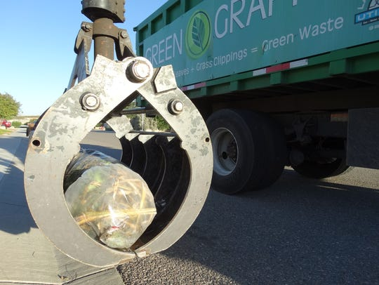 Clear bags ensure that LCU Green Grappler drivers can