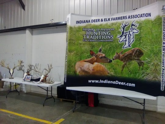 The IDEFA banner was prominently displayed beside several