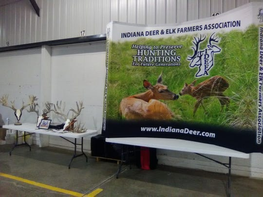 The IDEFA banner was prominently displayed beside several impressive racks from some of the supporting businesses.