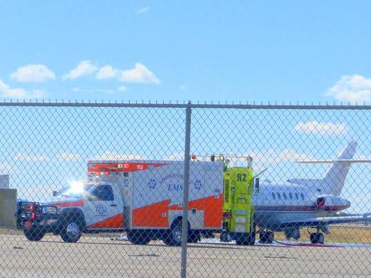 ambulance-at-plane