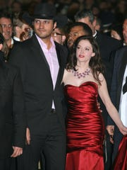 Director Robert Rodriguez and actress Rose McGowan are seen promoting 'Grindhouse' at the 2007 Cannes Film Festival.