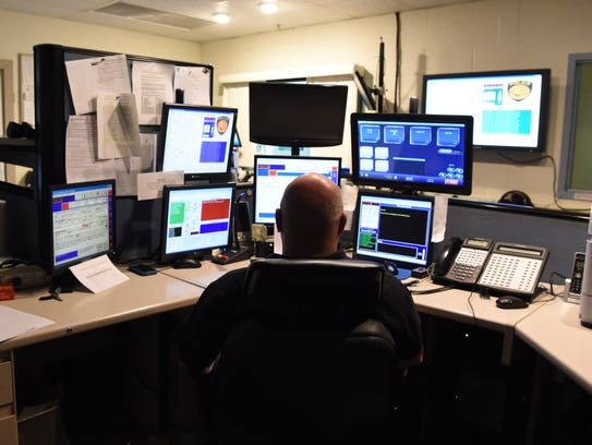 The communications department inside the Town of Poughkeepsie
