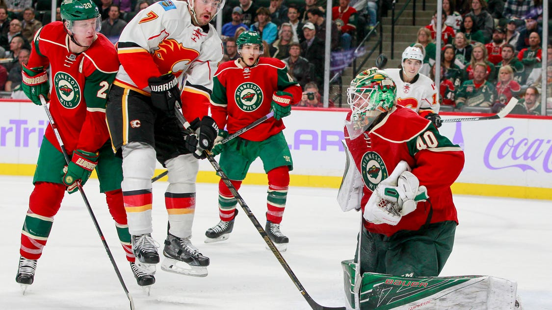 Gaudreau's goal gives Flames 1-0 win vs. Wild to stop skid