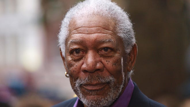 Morgan Freeman arrives for the European premiere of his latest film 'The Dark Knight Rises' in London's Leicester Square on July 18, 2012.