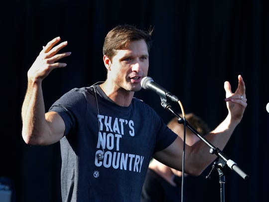 Walker Hayes performs at Summerfest's U.S. Cellular Connection Stage June 30.
