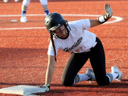 Henrietta's Kaci Williams is one of four Lady Bearcats chosen to play in June's FCA all-star softball game.