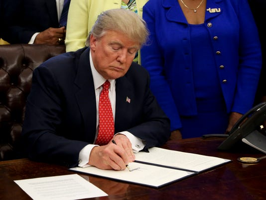 President Trump Signs Executive Order in Support of Black Colleges
