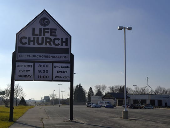 Life Church, 1250 Mid Valley Drive, town of Lawrence.