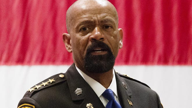 Milwaukee County Sheriff David A. Clarke Jr. on Friday called on the City of Milwaukee to hire 400 additional police officers and the county to hire 200 new deputies.