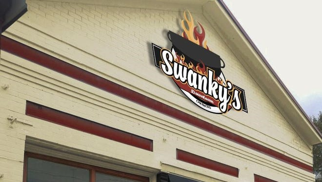 The exterior of Swanky's in Downtown Carencro