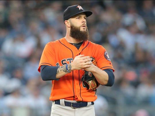 May 30, 2018; Bronx, NY, USA; Houston Astros starting