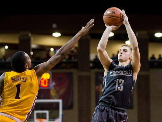 NCAA Basketball: Vanderbilt at Minnesota