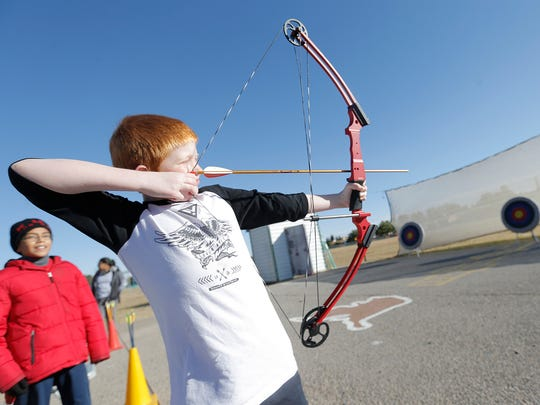Archery is offered every Saturday at the El Paso Museum of Archaeology in the Northeast.