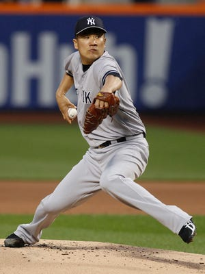 Masahiro Tanaka struck out eight and walked none in his first big league shutout.