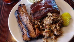 Barbecued meats at Porkopolis in Chandler.