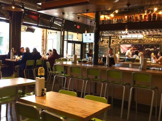 Hopdoddy Burger Bar interior