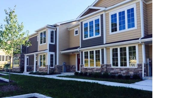 Affordable townhouse complex in Yorktown is ready for homeowners