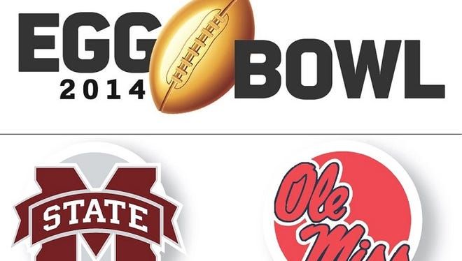 The Egg Bowl is Saturday at 2:30 p.m. in Oxford.