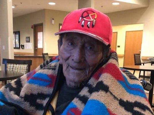 Code Talker Samuel Tom Holiday