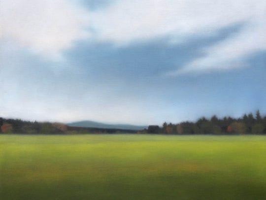 """Sundrenched Field"" by Christie Scheele."