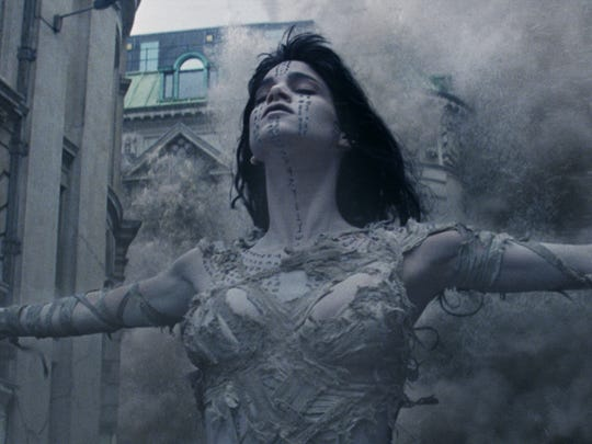 Sofia Boutella stars as the new take on the title monster