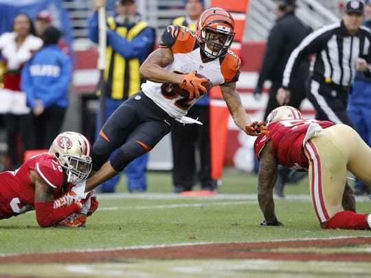 Marvin Jones wasn't the primary read on this third-down
