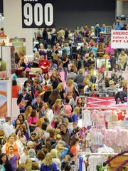 The Southern Women's Show always draws a big crowd. This year's show is March 7-10 at Music City Center.