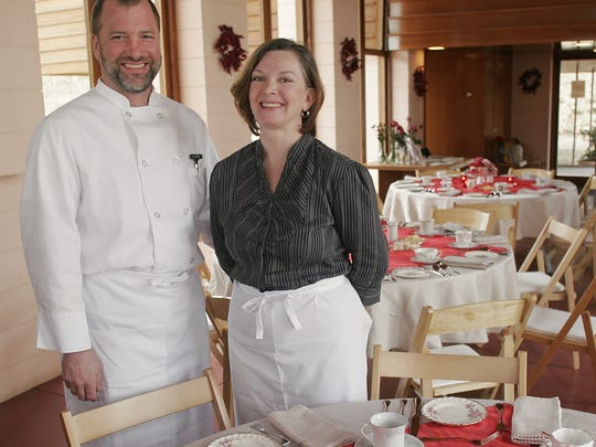 Daryl  and Leslie Gossack, owners of Loustic Catering, will use local produce to craft Marion-Polk Food Share's Farm to Table event menu.