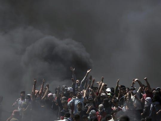 APTOPIX Palestinians Israel