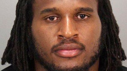 San Francisco 49er defensive end Ray McDonald is seen in an undated photo provided by the San Jose Police Department. McDonald, 29, was arrested early Sunday, Aug. 31, 2014 by San Jose Police on felony domestic violence charges. San Jose police Sgt. Heather Randol says McDonald was taken into custody after officers responded to a home in an upscale neighborhood.