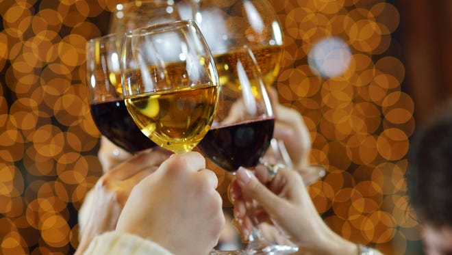 A new study says drinking two helpings of wine, beer or cocktails could lead to longevity.