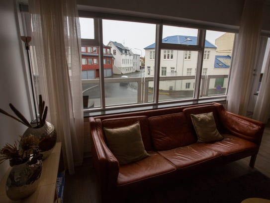 Our Air BNB in Reykjavik. It was a two-bedroom, two