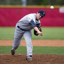 St. Augustine's Avy Bermudez gets a hit in a 4-1 triumph over Vineland on Friday.