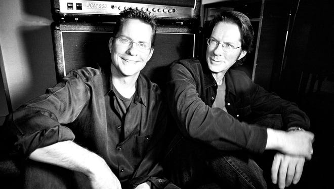 Green Bay natives Jeb, left, and Jock Guthrie, known musically as The Guthrie Brothers, are coming home from New York to play Knights on the Fox on Tuesday at St. Norbert College in De Pere. They'll perform a tribute to Simon & Garfunkel.