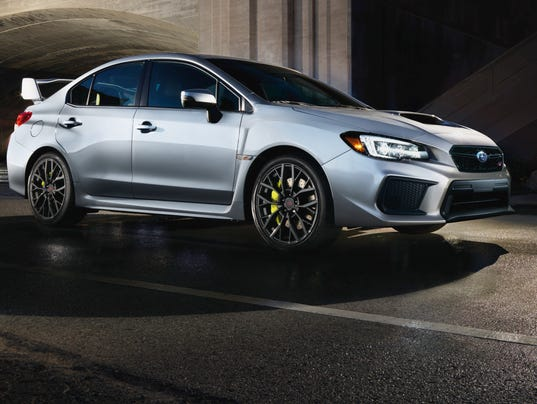 Review Subaru Wrx Sti Is Spunky But Lacks Refinement