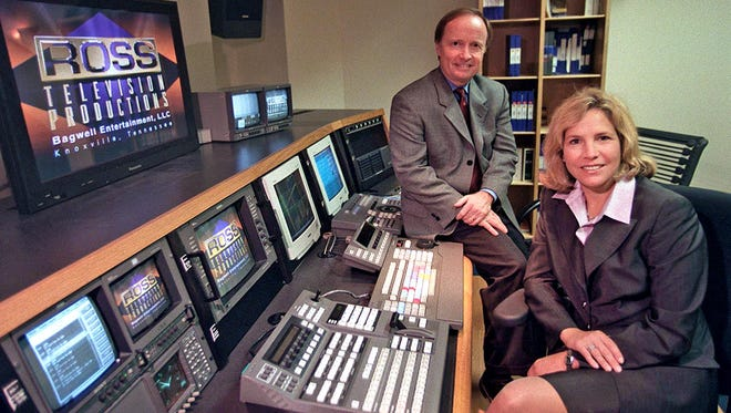 Robert Lundgren and Dee Haslam, pictured June 29, 2000, founded RIVR Media. The multimedia company began when Haslam purchased Bagwell Entertainment and teamed up with Lundgren.