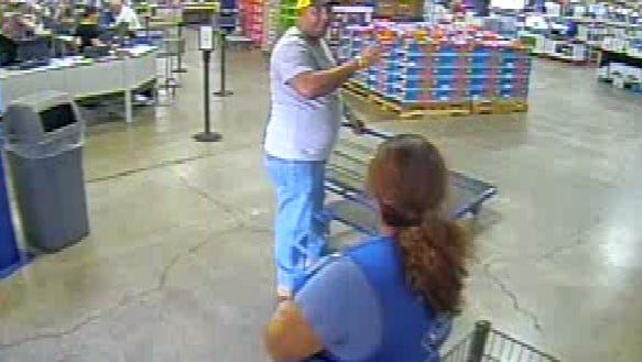 A fraud suspect using cloned credit and membership cards at a local Sam's Club is being sought.