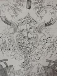 Sketches by Gary Mellon