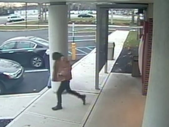 Toms River police say the man captured in this surveillance