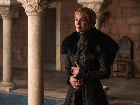 Lena Headey as Cersei Lannister in the Season 7 finale