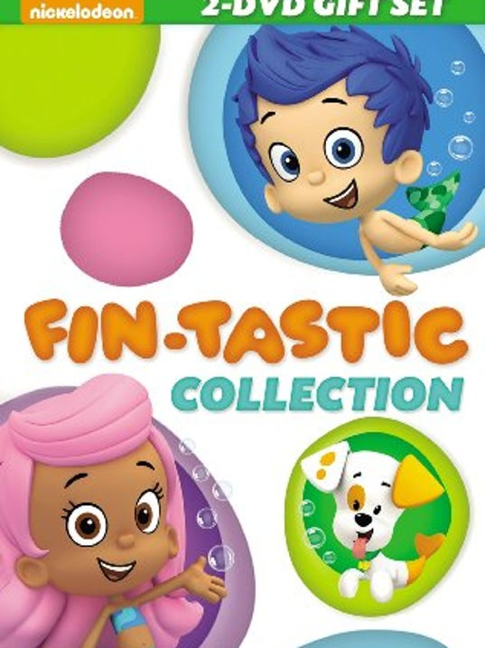 Bubble Guppies DVD set