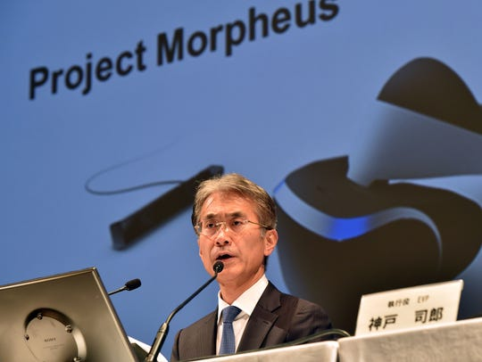 Kenichiro Yoshida, CFO of Japanese electronics giant