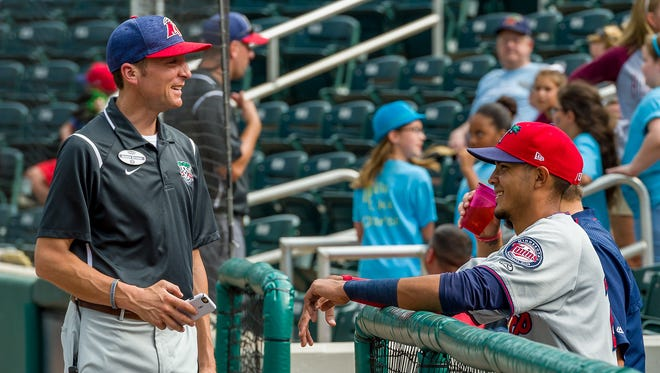 Fort Myers Miracle general manager Andrew Seymour, pictured in August at Hammond Stadium, is joining the Palm Beach Cardinals as general manager next season.
