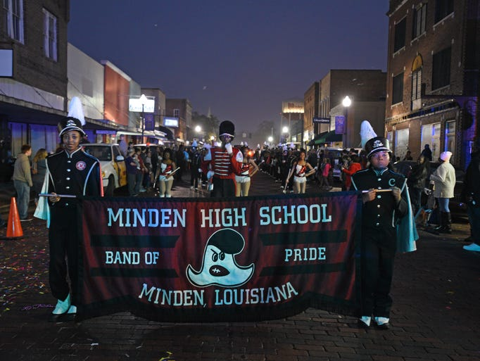 The 21st Annual Fasching/Mardi Gras Parade rolled through
