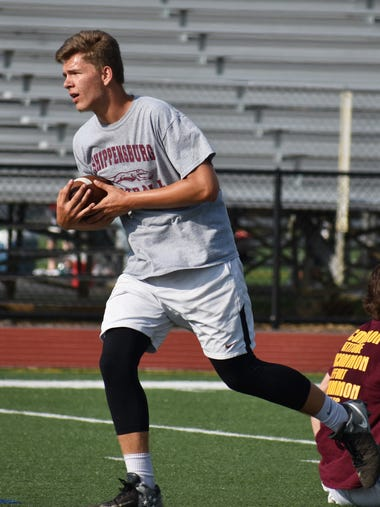 Area football teams participated in 7-on-7 scrimmages
