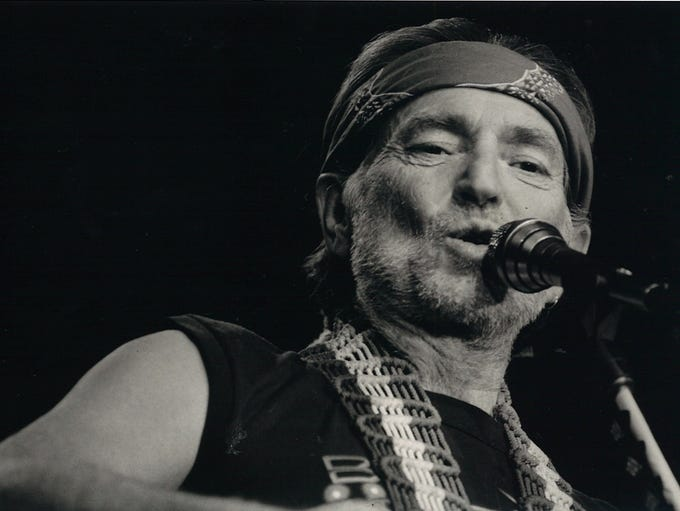 Willie Nelson in concert in Corpus Christi on Nov.