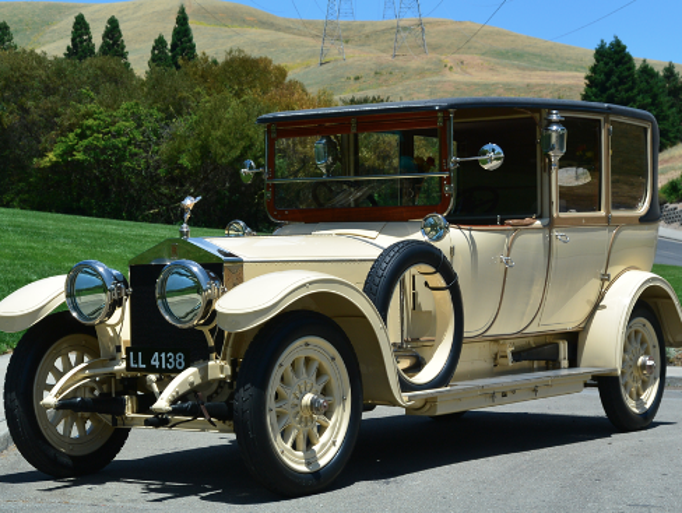 BarrettJackson Auction Includes RollsRoyce Silver Ghost - Collector car classifieds