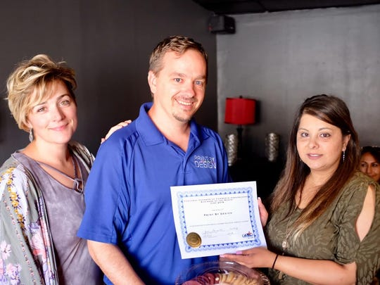 Print by Design was selected as the June Business of the Month by the Carlsbad Chamber of Commerce Ambassadors.